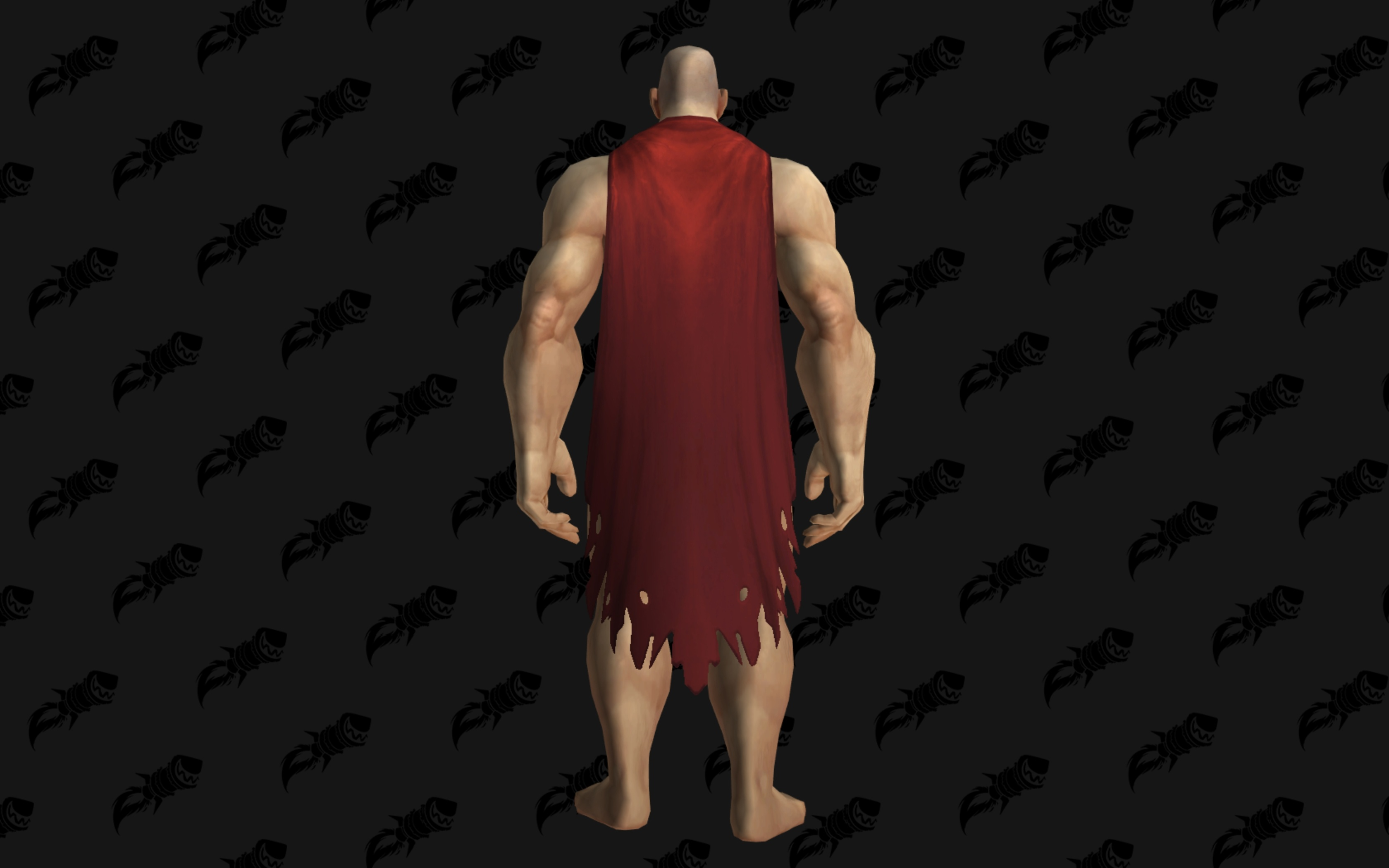 WoW Warfront Red Cloak