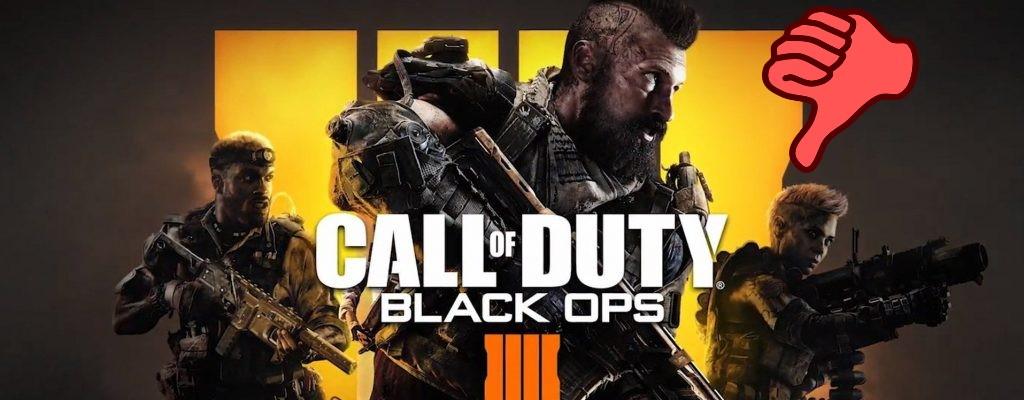 Singleplayer-Fans geben Black Ops 4 massenweise negative Wertungen