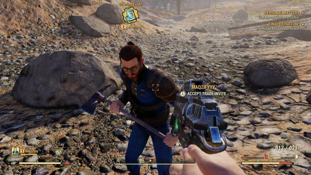 fallout 76 screenshot handel annehmen