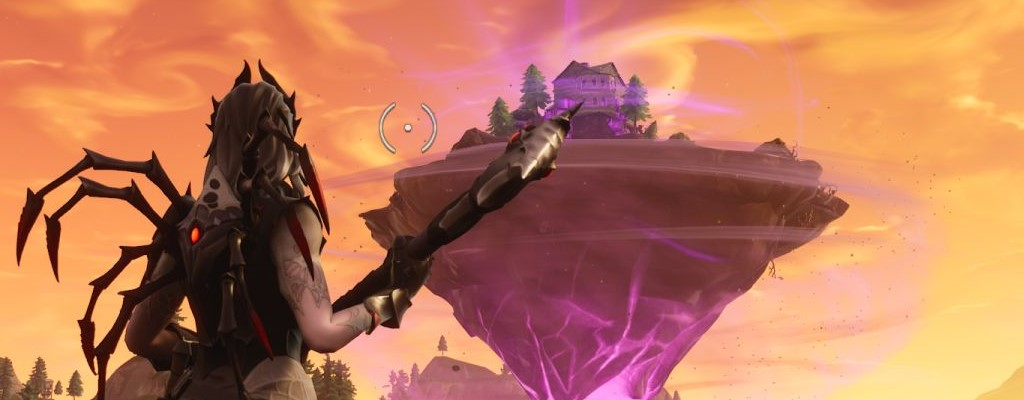 Fortnite: Fliegende Insel öffnet Portal am Himmel – Fans gähnen
