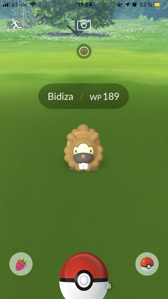Pokémon GO Bidiza