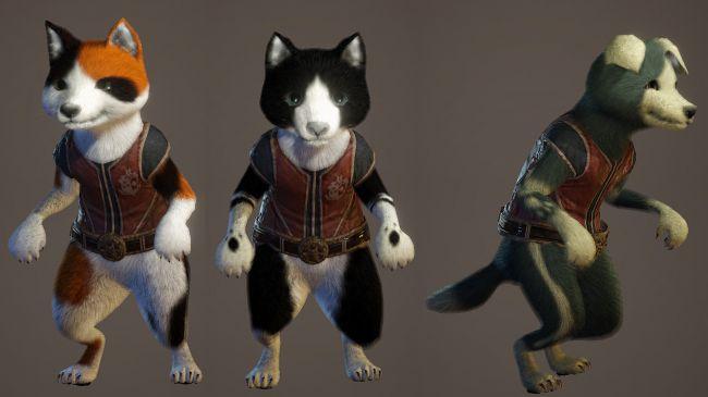monster hunter world cats&dogs