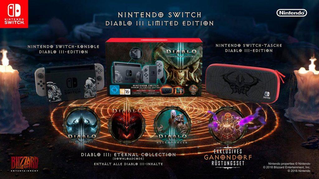 Das sind die Inhalte der Diablo 3 Edition der Nintendo Switch.