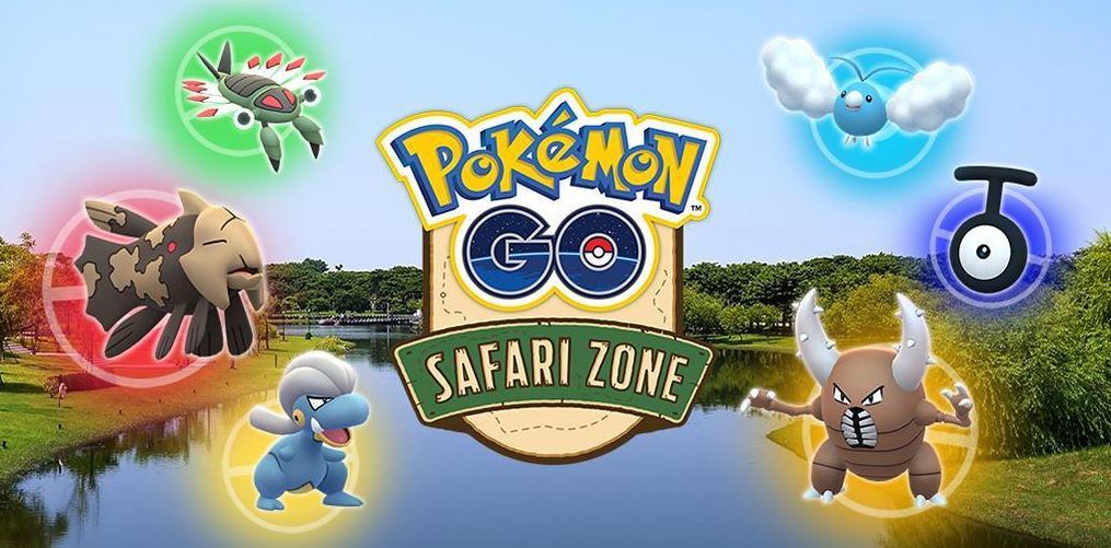 pokémon GO Safari Taiwan