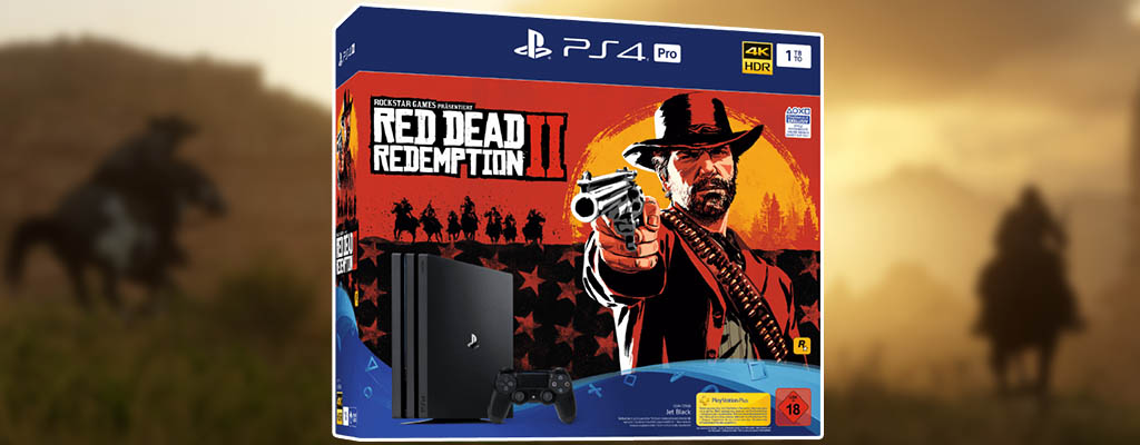 Red Dead Redemption 2 PS4-Bundle im MediaMarkt Prospekt