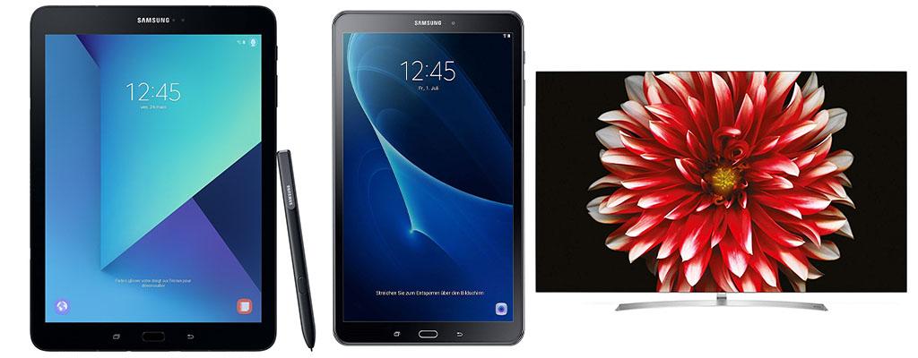 Letzter Tag der Amazon Herbst-Angebote-Woche mit Samsung Galaxy Tablets