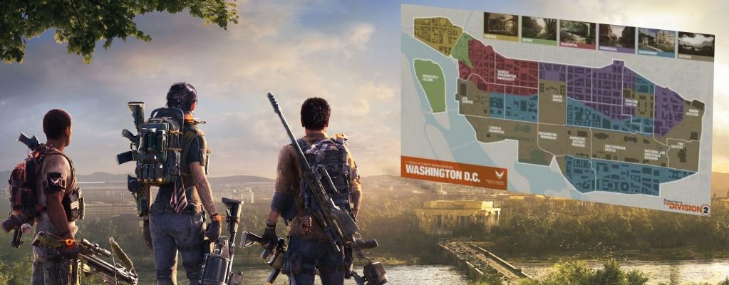 The Division 2 hat 6 Regionen – Hier ist die komplette Map