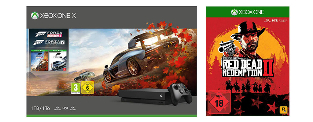 Xbox One-Bundles mit Red Dead Redemption 2 ab 249 Euro