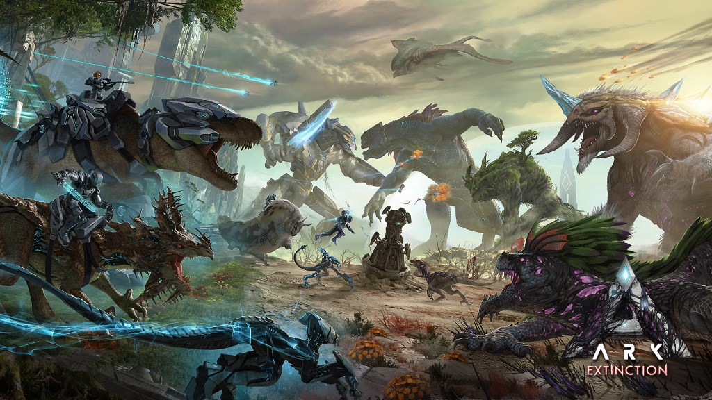ARK Extinction Artwork