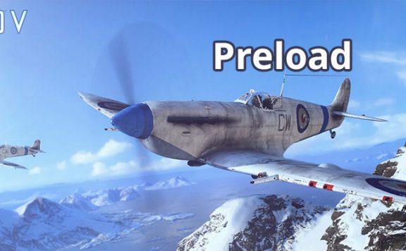 Battlefield 5 Preload Titel