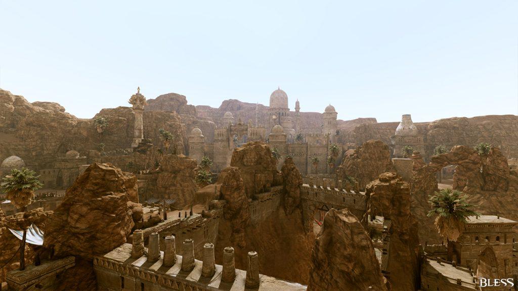 Bless Online Ruinen von Shaqqara