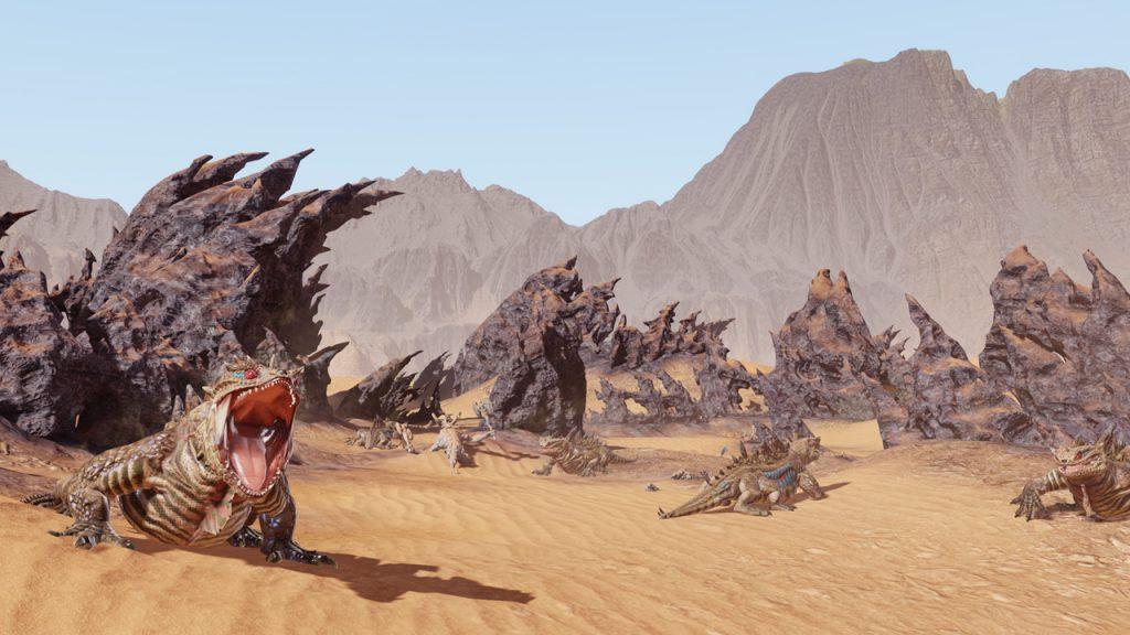 Bless Online brennende Wüste