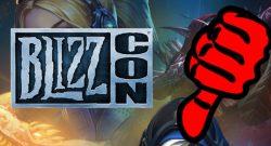 BlizzCon Daumen runter title