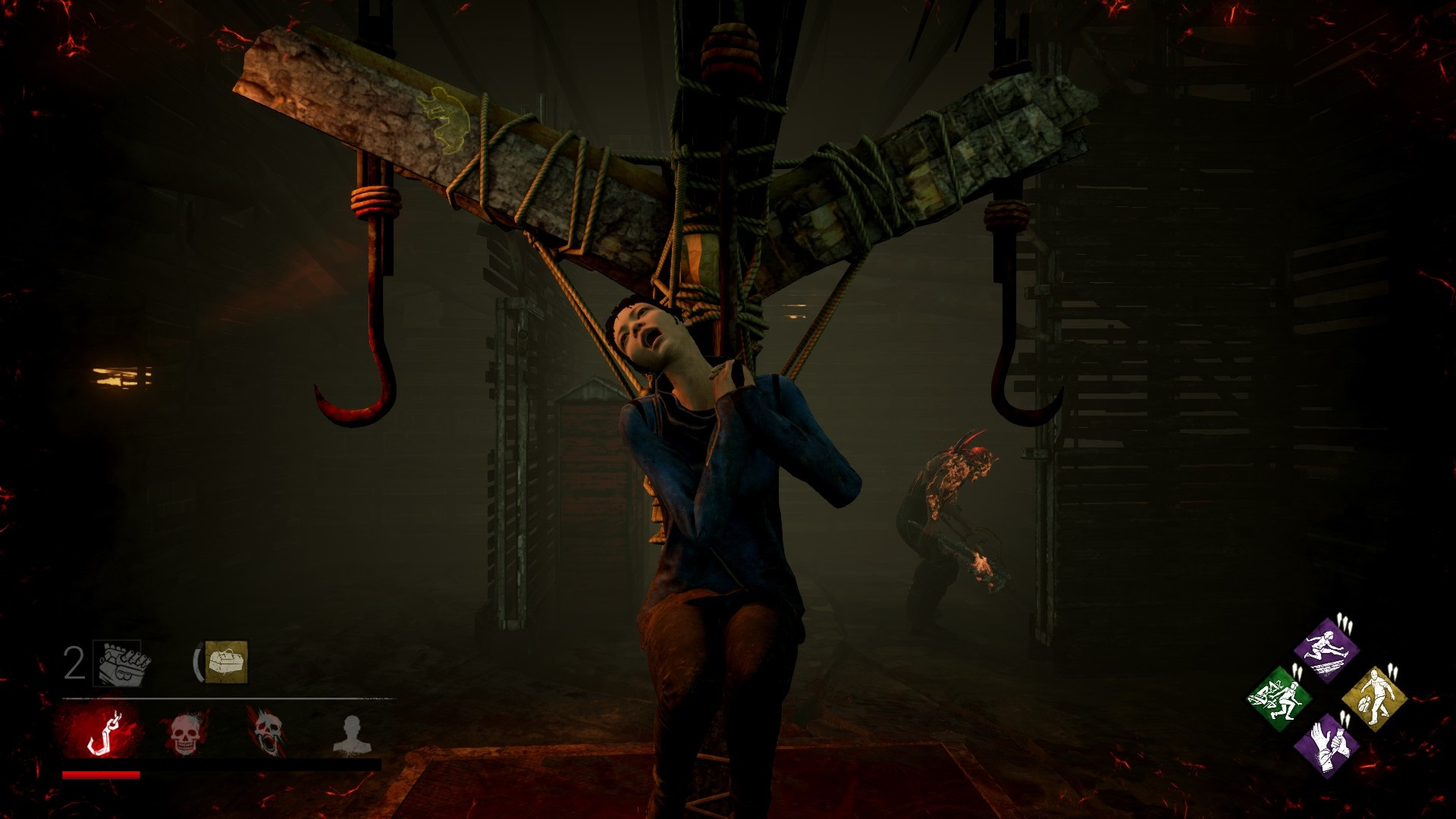 Dead by Daylight Feng Hanging