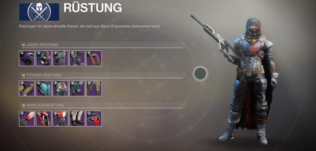 Destiny 2 S5 jäger set