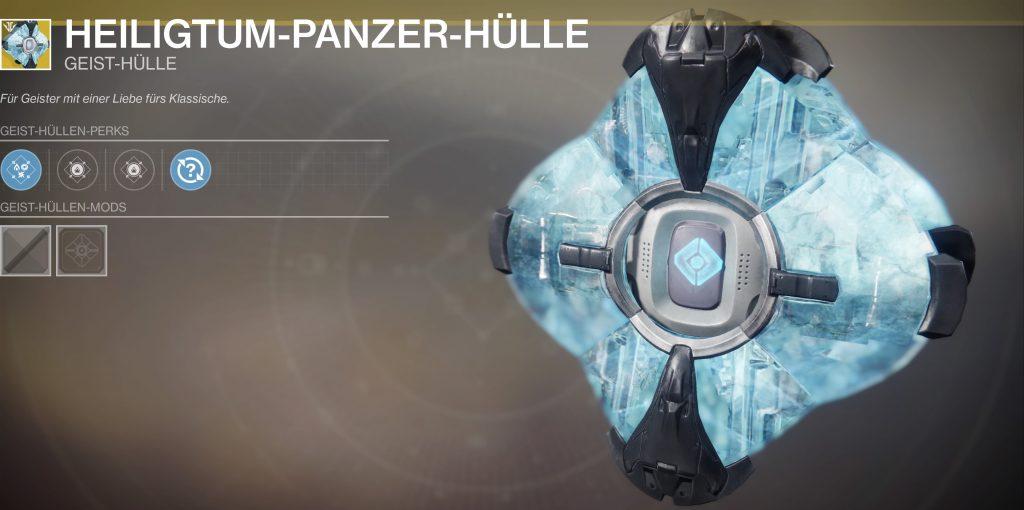 Destiny 2 heiligtum panzer geist