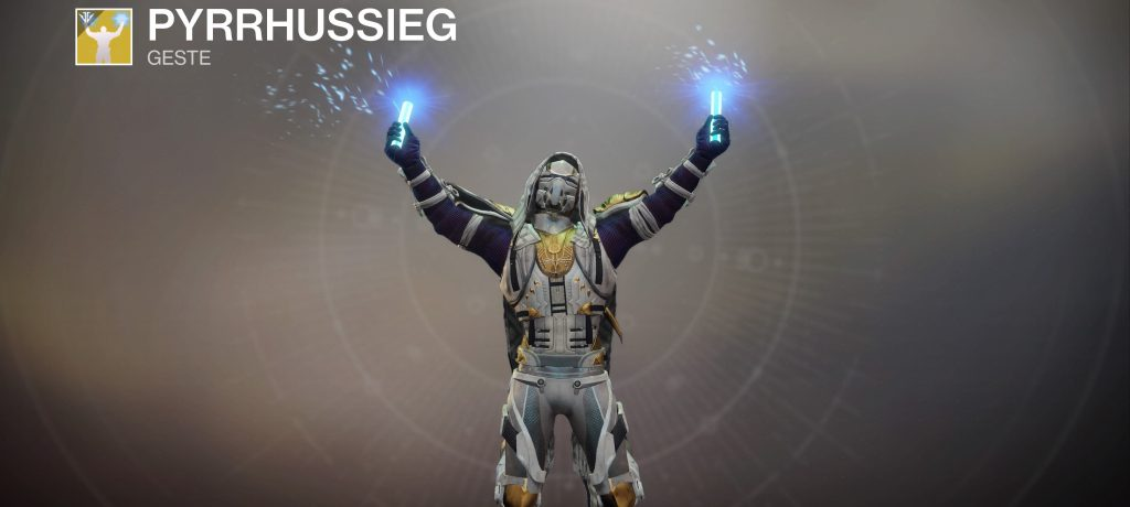 Destiny 2 pyrrhus sieg