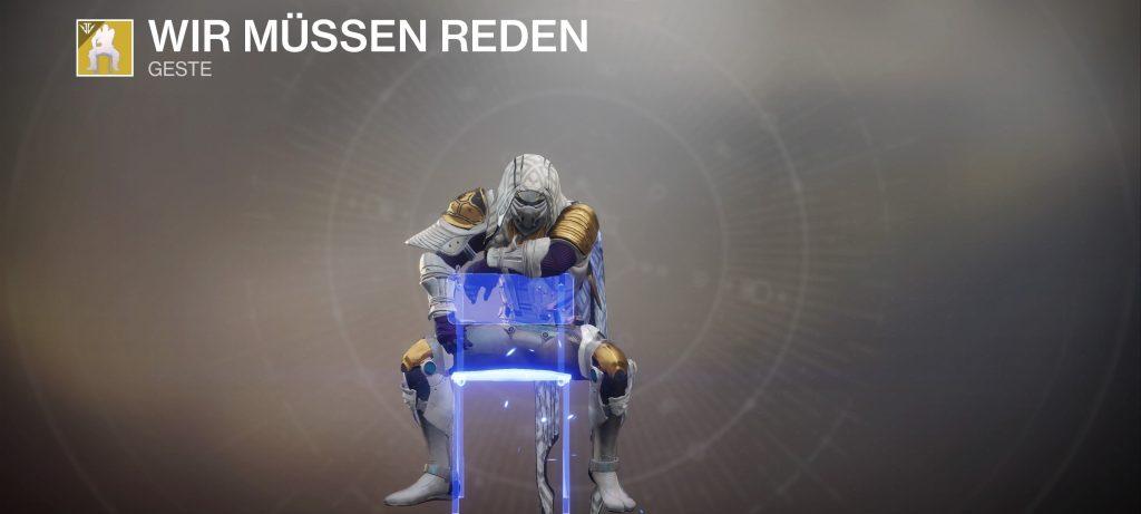 Destiny 2 wir müssen reden