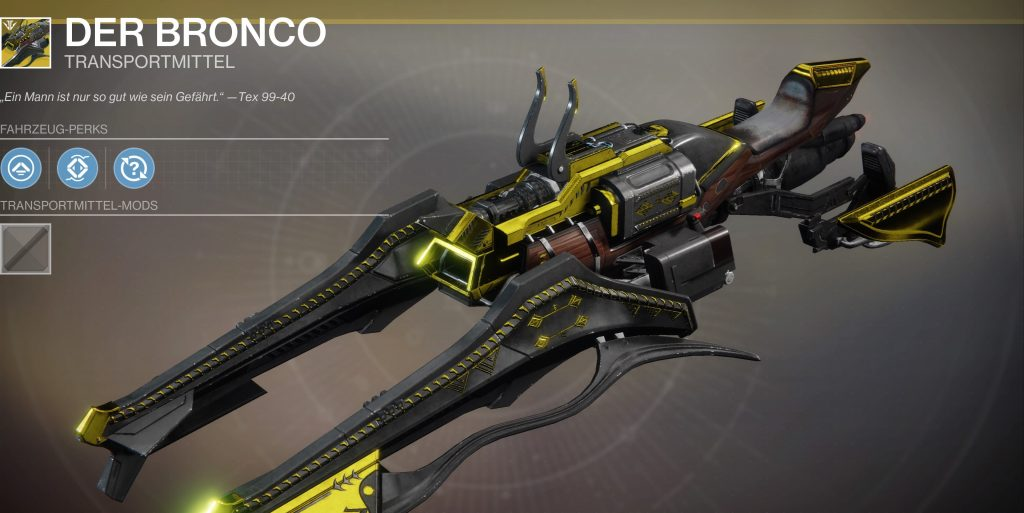 Destiny 2 bronco sparrow