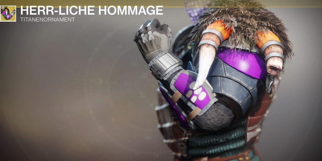 Destiny 2 herrliche hommage