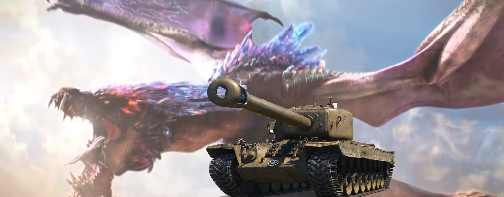 So sieht es aus, wenn man World of Tanks mit Monster Hunter kreuzt