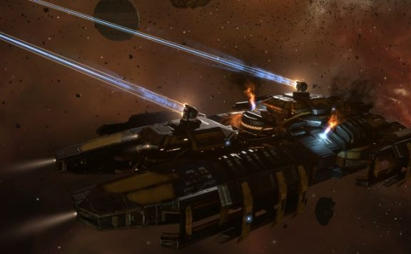 EVE Online Battle