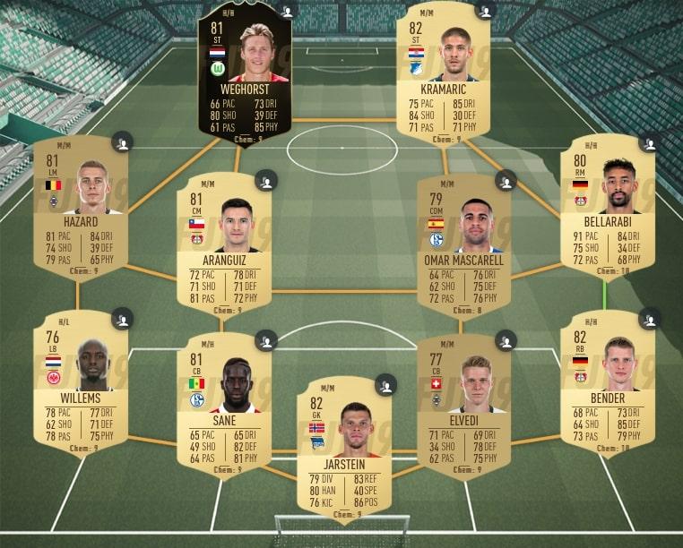 FIFA 19 Sancho Bundesliga SBC