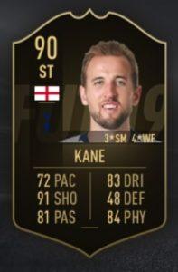 FIFA 19 TOTW 10 Kane