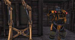 Fallout 76 Baggerrüstung und Powerrüstungs Station Titel