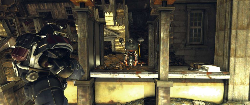 Fallout 76 Capitol Building BEamtenbot B