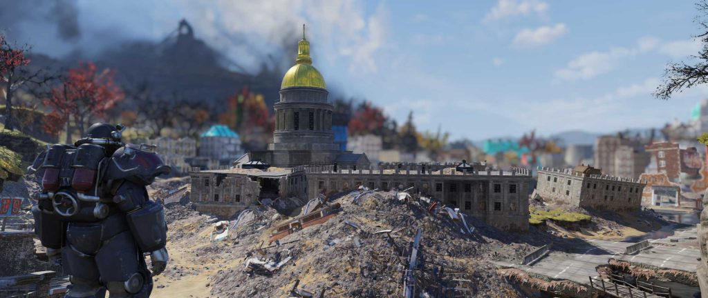 Fallout 76 Capitol Building in Charleston besser