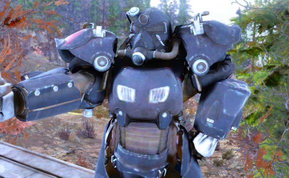 Fallout 76 Daumen hoch in Powerrüstung titel
