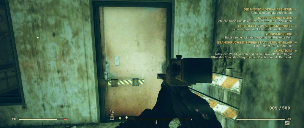 Fallout 76 Evan Tür 2