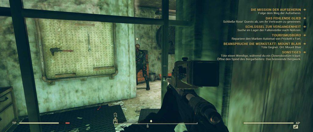 Fallout 76 Evan lebendig