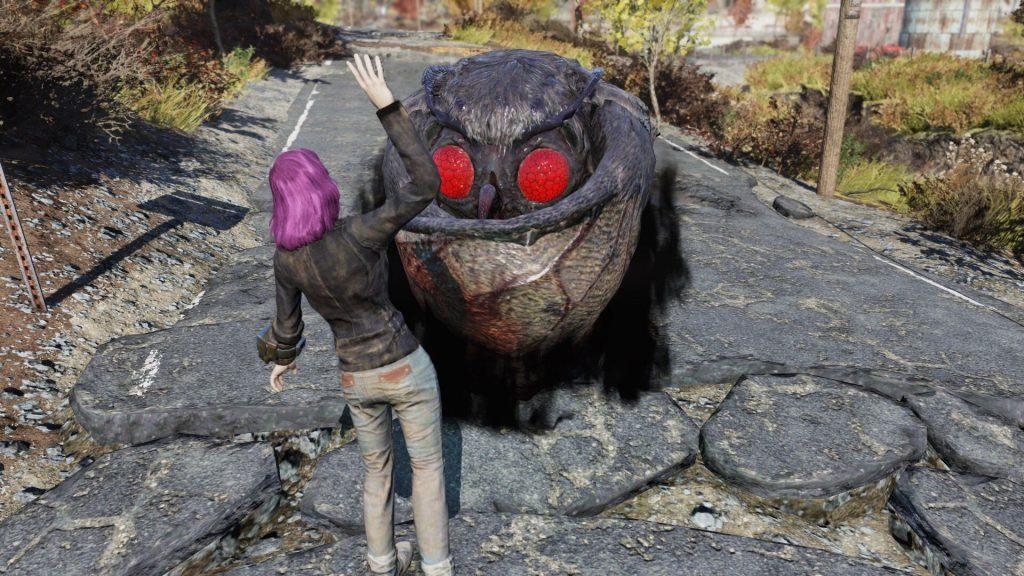 Fallout 76 Mothman Selfie 1