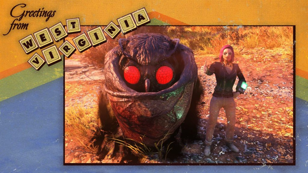 Fallout 76 Mothman Selfie 2