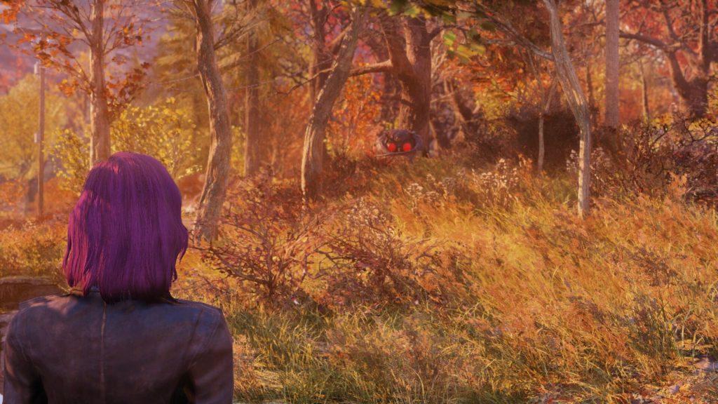 Fallout 76 Mothman Selfie 4