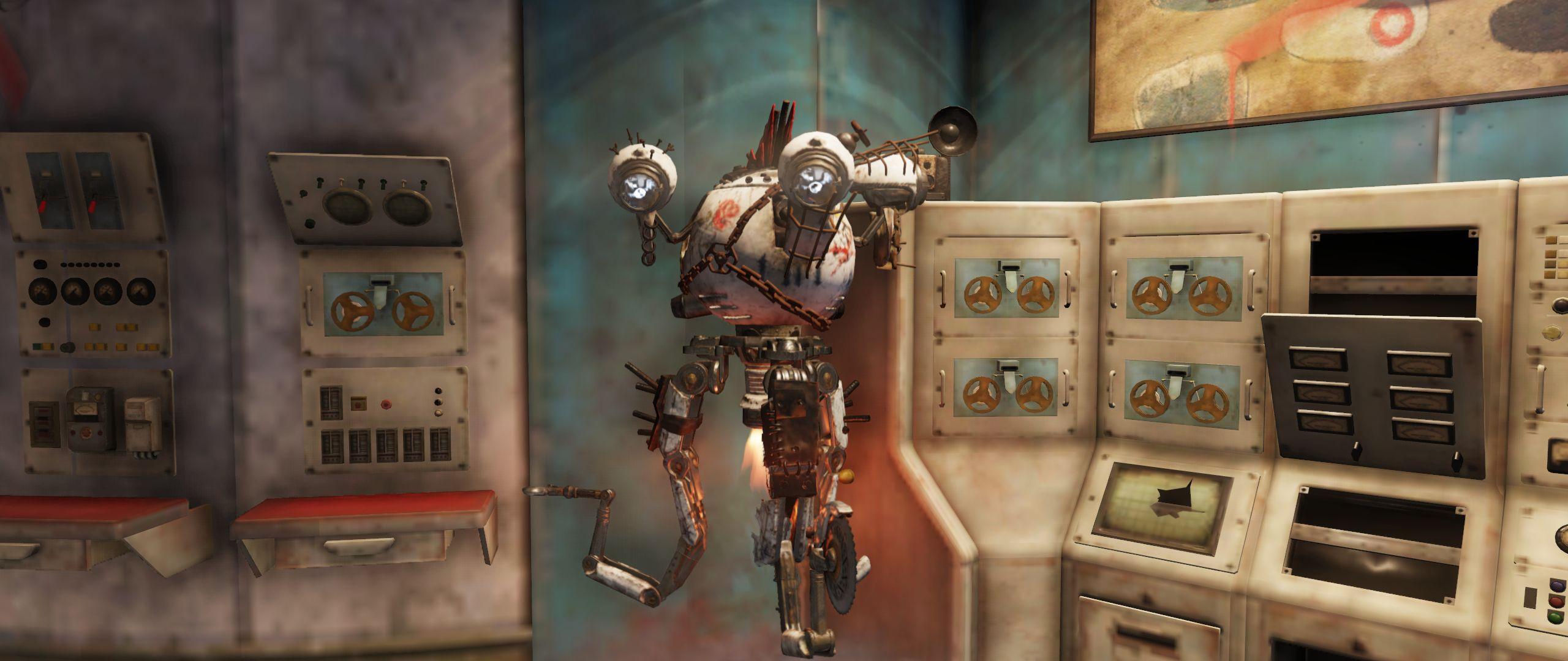 Fallout 76 Raider Bot Rose