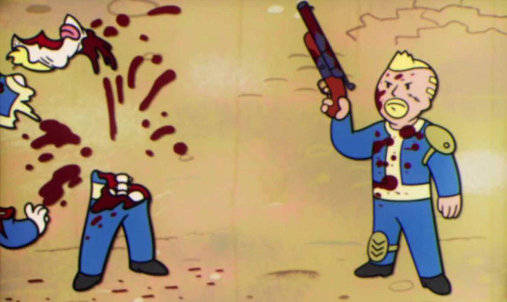 Fallout 76 Typ erschießt anderen