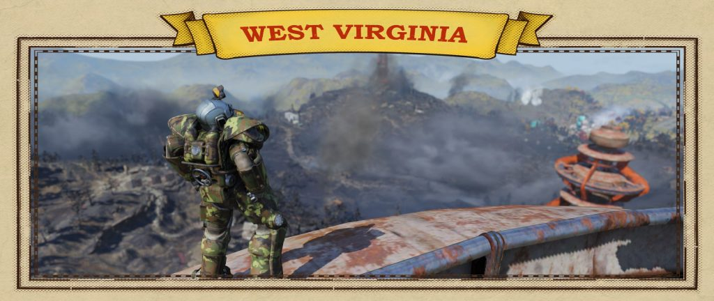 Fallout 76 aussicht in pwoer armor screenshot