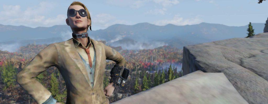 Fallout 76 stolzer Spieler Anspieltest Titel