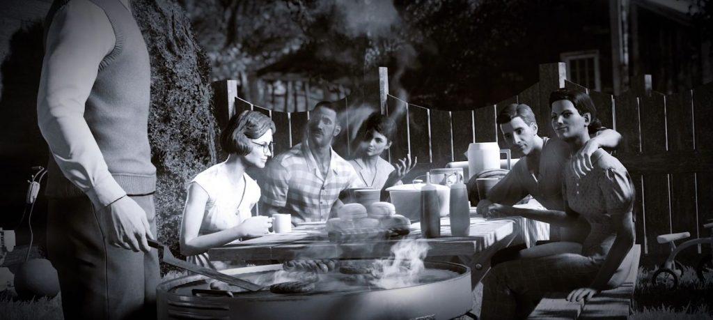 Fallout 76 trailer barbecue