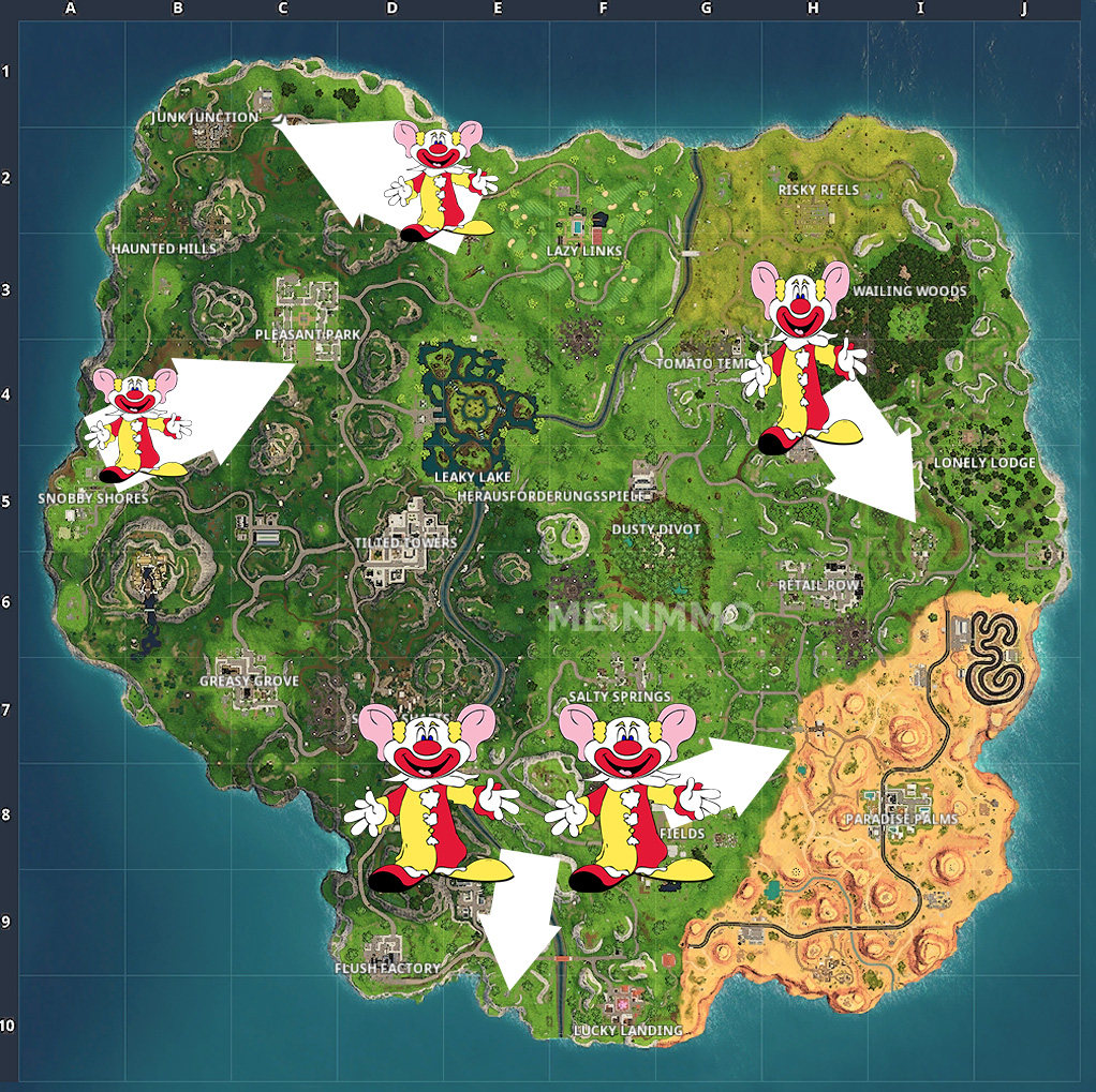 Fortnite Clown Map3