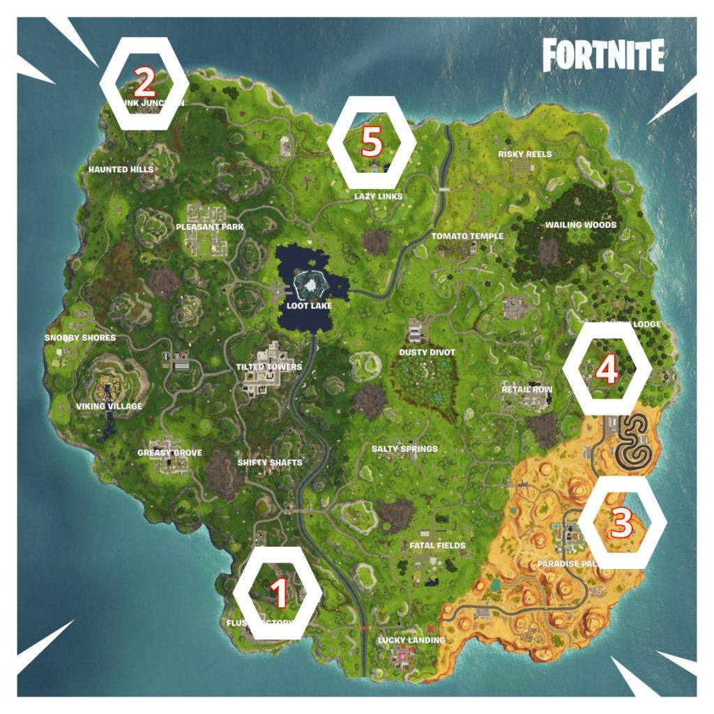 Fortnite Map Zeitrennen