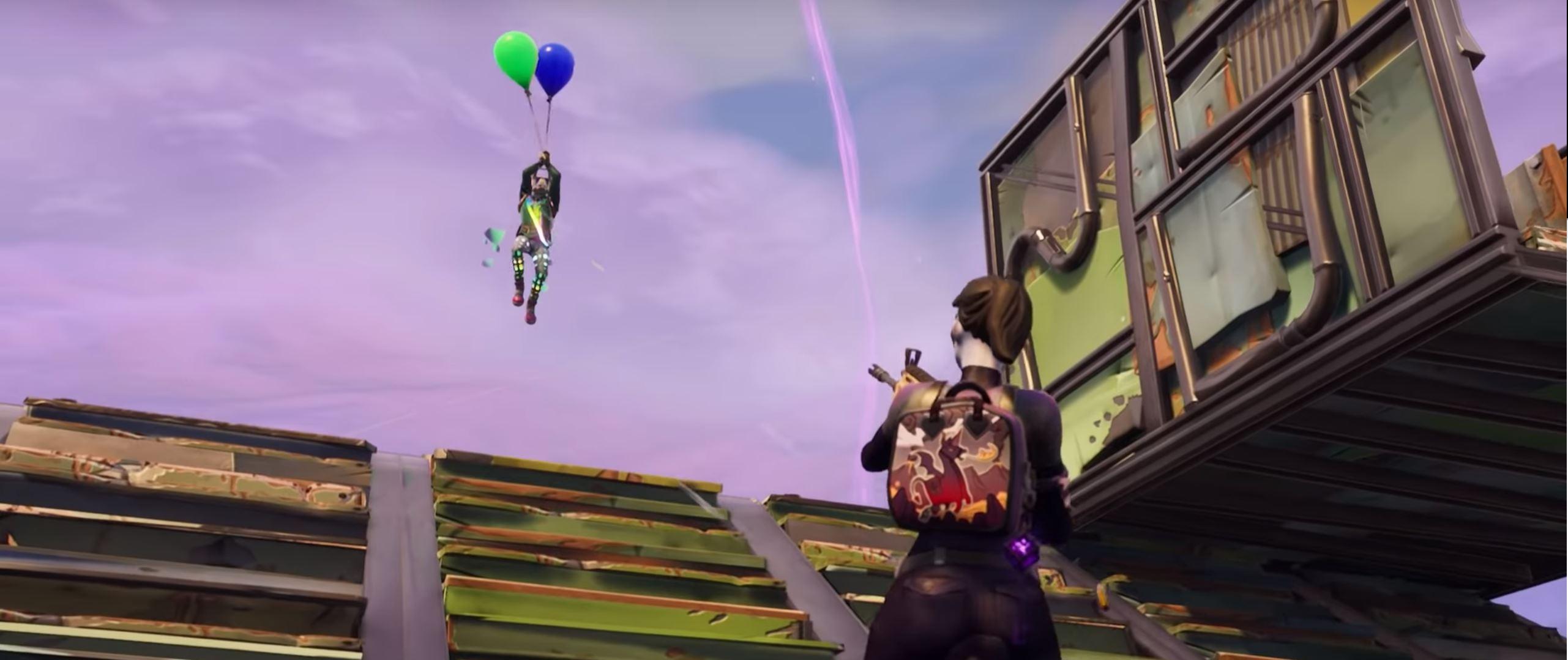 Fortnite-ballon-Action