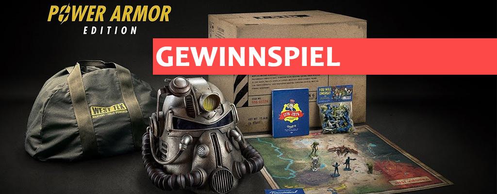 Gewinnt hier die bombastische Power Armor Edition von Fallout 76