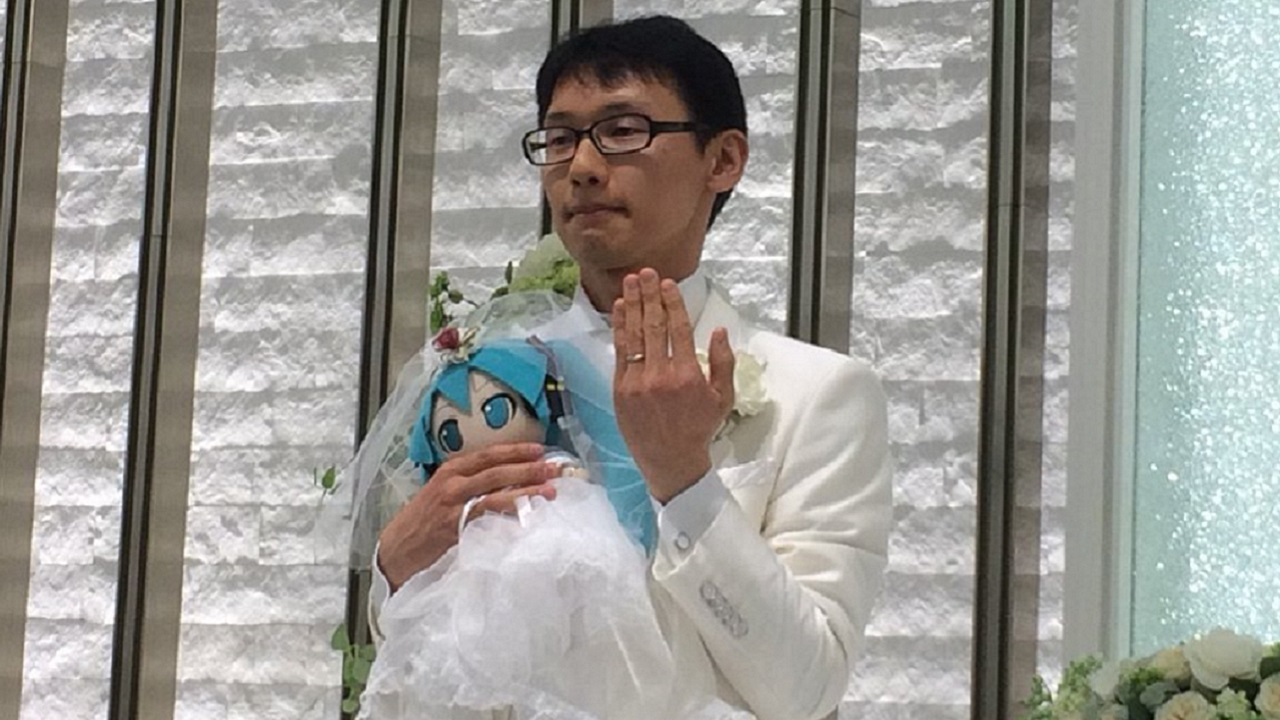 Hatsune Miki Wedding 1