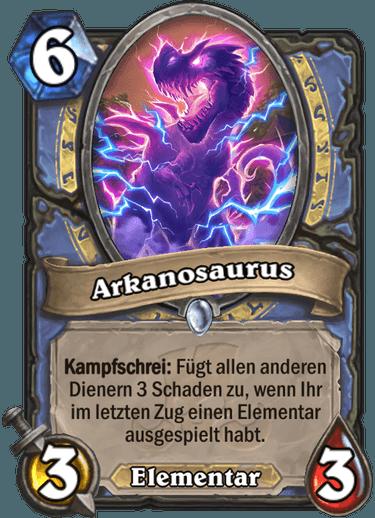 Hearthstone Arkanosaurus