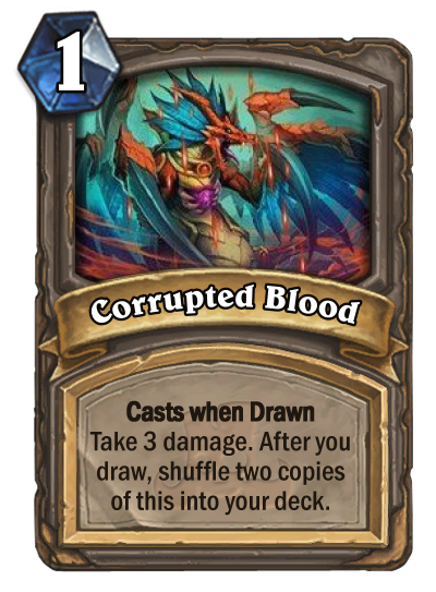 Hearthstone Corrupted Blood