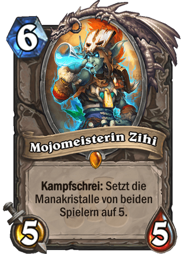 Hearthstone Mojomeister Zihi